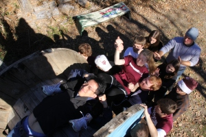 """Honors Students work together to best the TAMU ChallengeWorks """"Meat Grinder"""""""