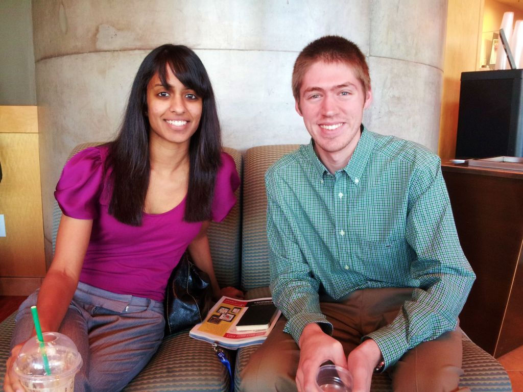 Rika Mallepally and Alex Mijalis
