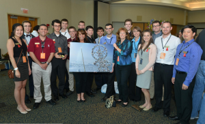 Boster's group at the Astronaut Scholars Conference