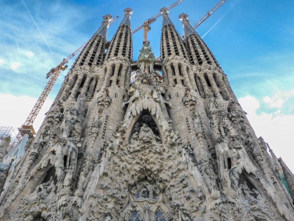 Nativity side of La Sagrada Familia - Barcelona, Spain