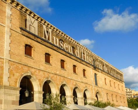 The Museu d'Historia de Catalunya Museum - Barcelona, Spain