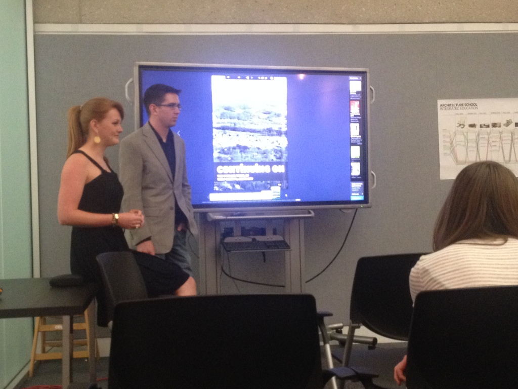 Kindall Stephens '14 & Brian Sowell '14 present on their capstones