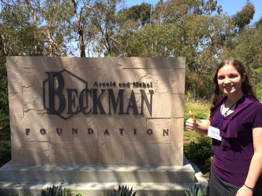 Mikayla Barry '17, first TAMU Beckman Scholar