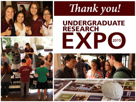 Thank you! Undergraduate Research Expo 2015