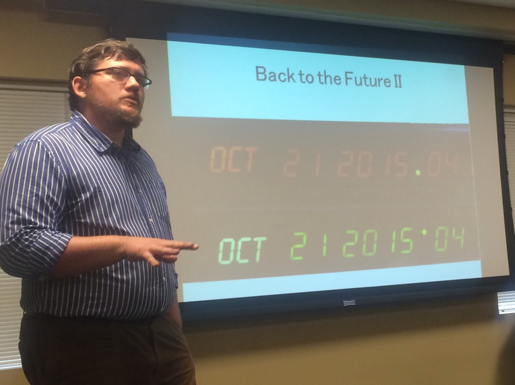 """We have not left Back to the Future behind."""" - Dr. Rich Cooper"""