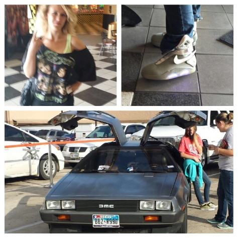 Collage of images from BTTF2015