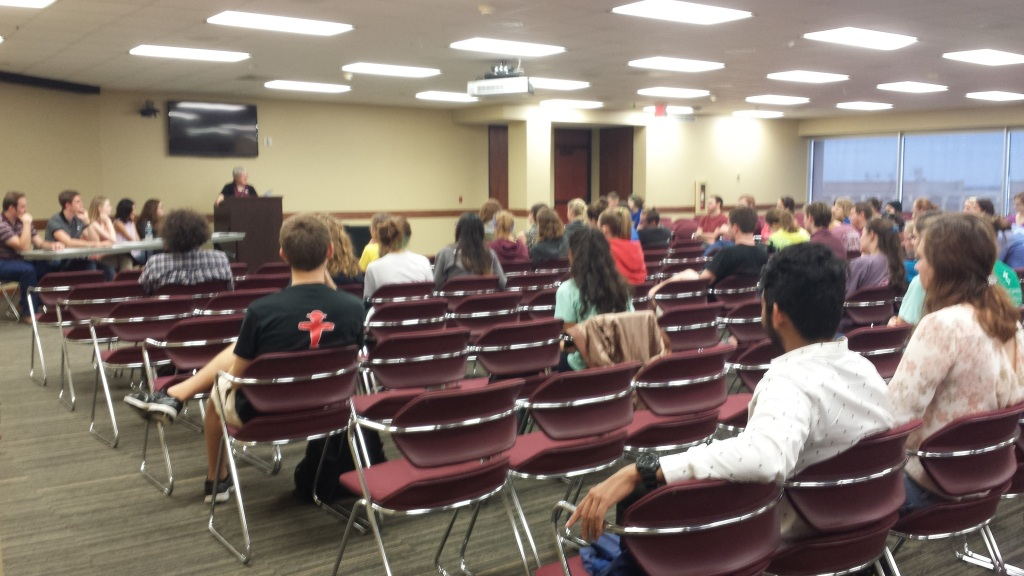 2)Honor Student Council provided a student panel to discuss and bring awareness to Mental Health issues on college campuses, looking primarily at high achieving-high ability student mental health on the Texas A&M University campus. (October 30th, 2015)