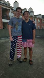 Sam & Edward patriotism
