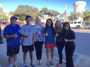 Pictured above (left to right): Eric Acensio, Mike Le, Claire Lohn, Jordan Sales, Elise Hackney, Alberta Lin | Texas A&M University